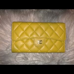 Chanel Large Flap Wallet
